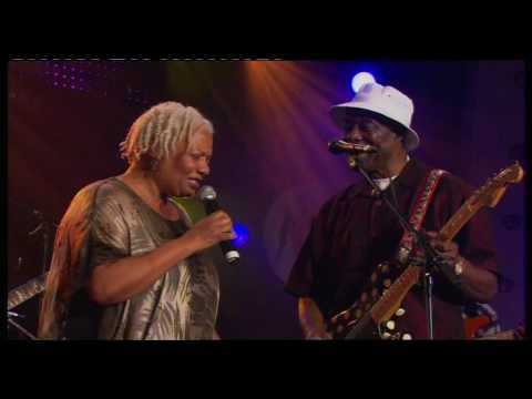 """Buddy Guy & Carlos Santana - """"Stormy Monday"""".  July 12, 2004 was a very special night at the Montreux Festival for any blues fan. With Carlos Santana as musical director (and special guest guitarist), three musical legends took to the stage, each one delivering a full concert set packed with some of the finest blues guitar playing youll ever hear. Bobby Parker, Clarence Gatemouth Brown and Buddy Guy are all headline acts in their own right so it was a real coup to get them on one line-up."""