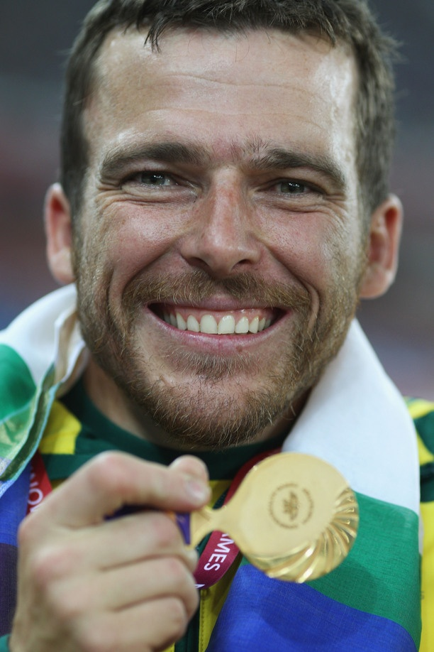 Australian wheelchair racer Kurt Fearnley
