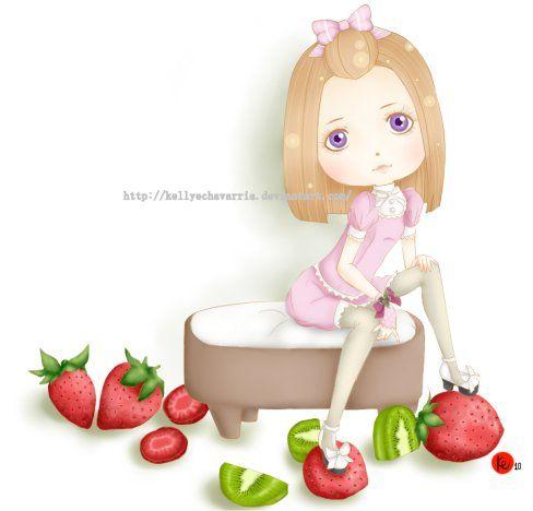 Girl berry by KellyEchavarria.deviantart.com on @DeviantArt