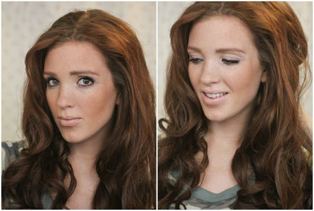 The Freckled Fox : 'The Basics' Hair Week, Tutorial #7: Hot Roller Curls