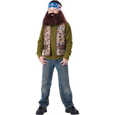 Duck Dynasty Willie Child Halloween Costume