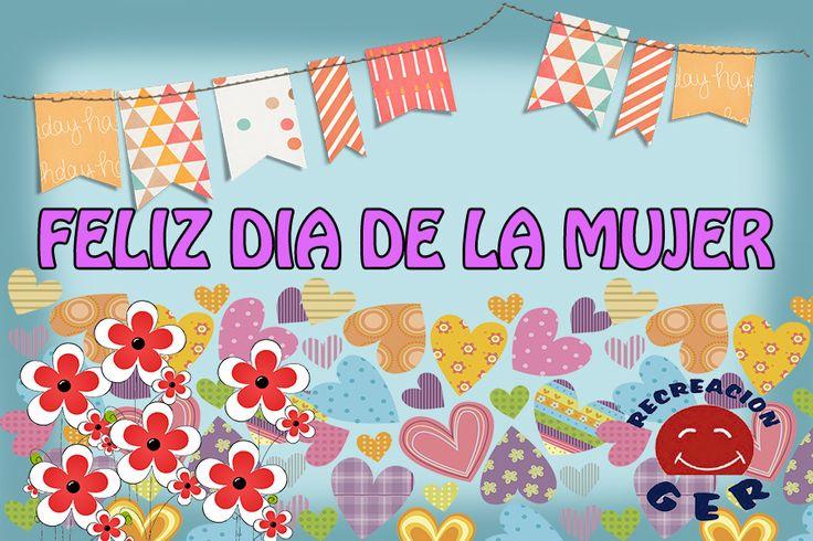 FELIZ DÍA DE LA MUJER  A todas las mujeres lindas, inteligentes y hermosas que andan por acá http://www.gereventos.com/ 3225293479-4013122 #felizdiadelamujer