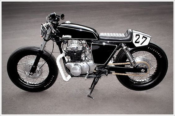 "Studio Motor's Honda CL350 - ""No.27"" - Pipeburn - Purveyors of Classic Motorcycles, Cafe Racers & Custom motorbikes"