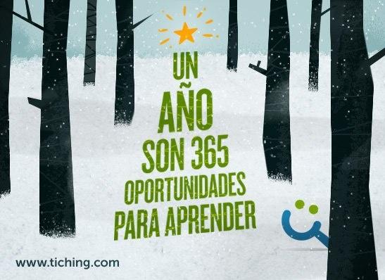 ¡Por un año lleno de retos y aprendizajes!  ¡Feliz año 2013!  Bon Any Nou!  Urte Berri On!  Feliz... pinned with Pinvolve