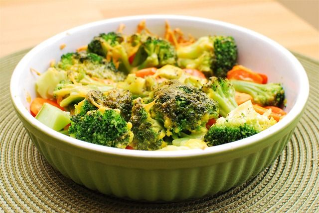 Cheesey Vegetable Bake (Extra Easy - FREE ~ Original - FREE ~ Green - FREE)