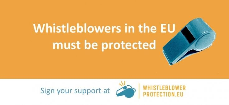 Sindicatos y ONG presentan coalición: Los denunciantes necesitan la protección de la UE – vidas, medio ambiente y dinero en juego
