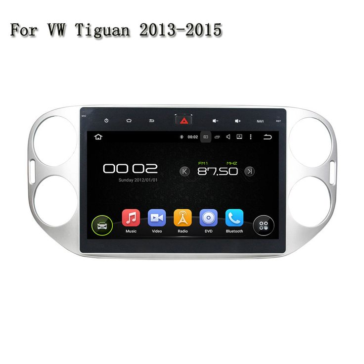 10.1 Inches Car DVD For VW Tiguan 2013-2015 Full Touchscreen Deckless Andriod System 5.1 4 CORE Rockchip PX3 Cortex A9 Can-Bus