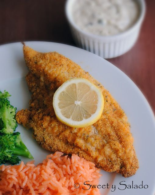 OVEN FRIED CATFISH Ingredients 4 fillets (approx. 1.5 lb) ½ cup breadcrumbs ½ yellow cornmeal (for baking and breading) 1 tsp salt...