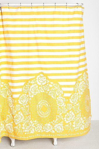 17 best ideas about Yellow Shower Curtains on Pinterest | Restroom ...