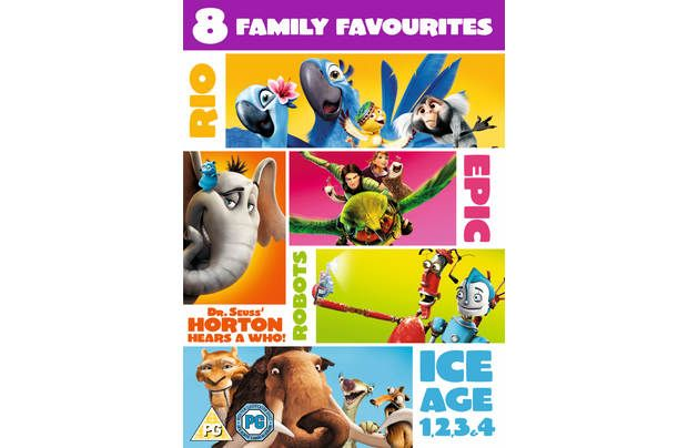 Blue Sky Family Rio Epic Ice Age Horton: A fantastic 8-film collection, featuring all of your favourite Blue Sky brands! Includes all 4 Ice…
