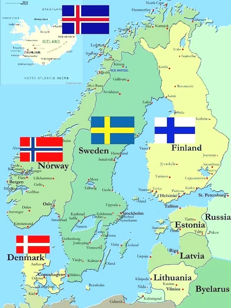 The 5 Scandinavian Countries Iceland Norway Finland Sweden And Denmark Sweden Travel Norway Sweden Finland Norway