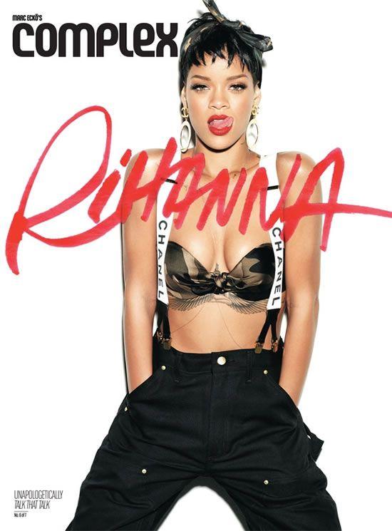 Another Complex magazine shot of Rihanna in Carhartt dungarees. http://mammothworkwear.com/carhartt-firm-duck-doublefront-work-dungaree-p1777.htm