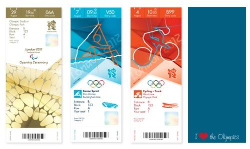 2012 Olympic Ticket Design