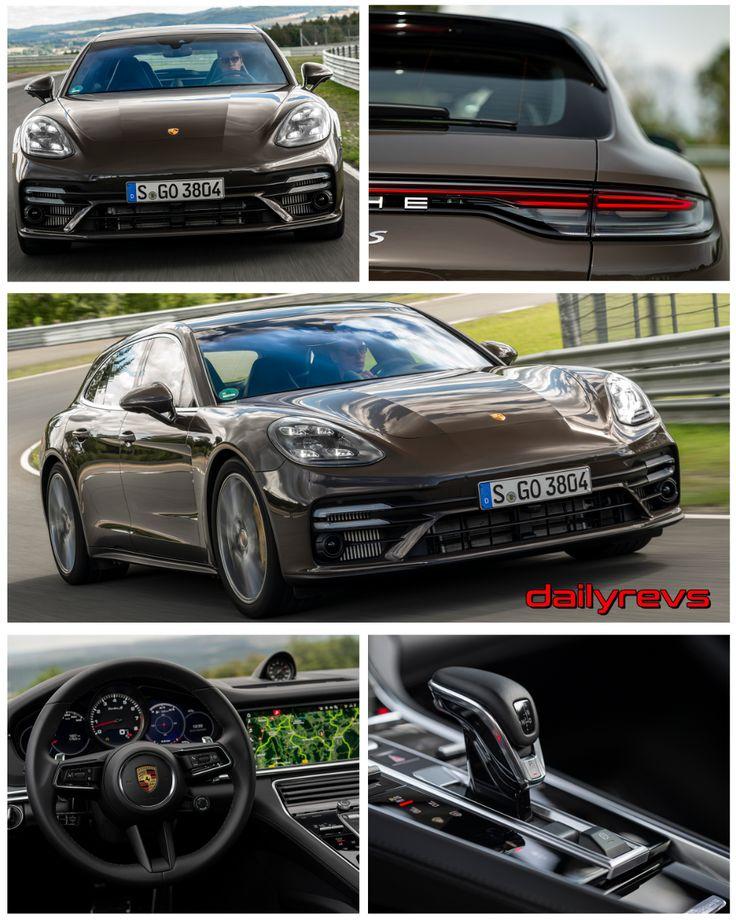 2021 Porsche Panamera Turbo S Sports Turismo Truffle