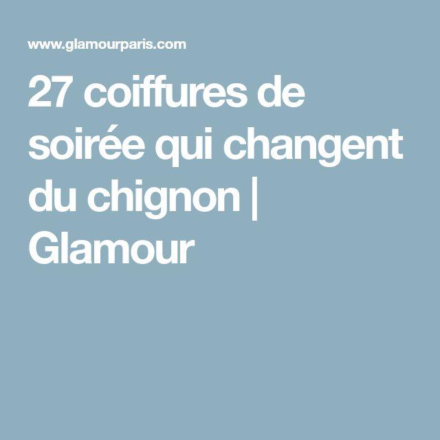 27 coiffures de soirée qui changent du chignon | Glamour