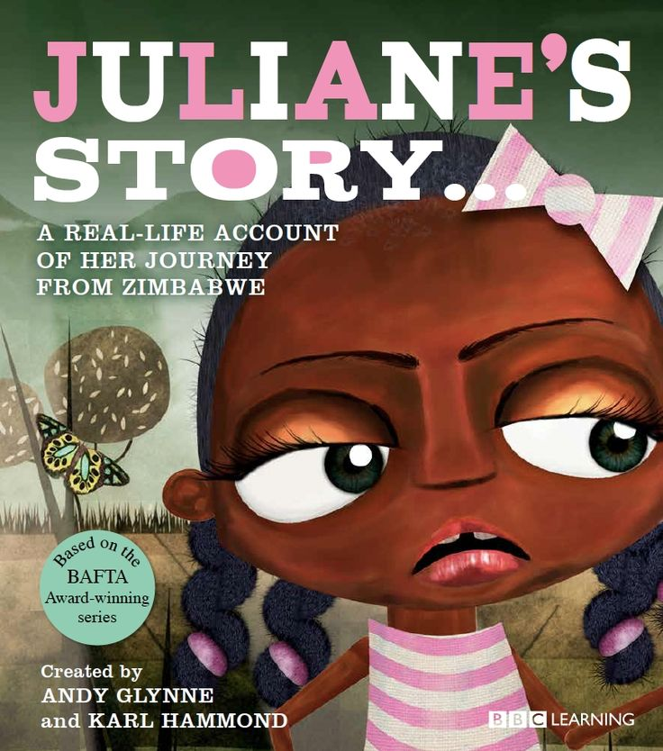 Juliane's Story - available from Books for Young Minds AUD $24.99. This is the story of Juliane from Zimbabwe who was separated from her mother at the age of three during the conflicts in her home country. It tells the distressing tale of how Juliane was brought up in an orphanage with many other children, until a remarkable chance meeting with her mother reunites the pair of them.