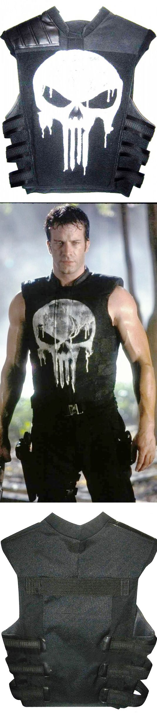 If you want a costume for an attire gathering or fundamentally just what you want for unplanned occasions, there's no need to aspect more, as we have Thomas Jane Punisher Tactical Black Vest. This Vest is certainly stimulated from the film The Punisher. The Thomas Jane Punisher Black Leather Vest is made up of Synthetic Leather with an inward lining of viscose.  #thomasjane #punisher #fashion #movies #lovers #fans #boysfashion #boyscollection #menfashion #shopping #hot #sexy #stylish…