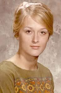 Meryl Streep oldschool ... I love old pictures of famous people!