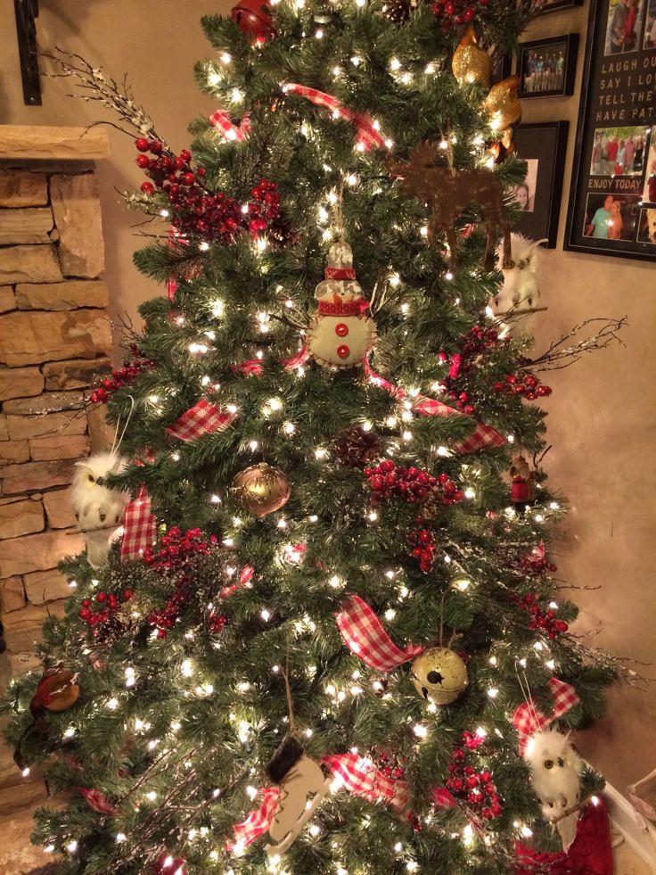 Country Christmas Tree | Christmas Decor | Pinterest | Christmas ...