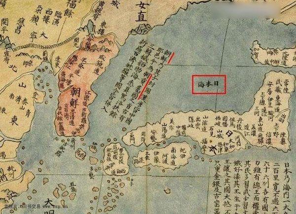 明代意大利传教士绘制的地图,上面标注朝鲜是中国的朝贡属国