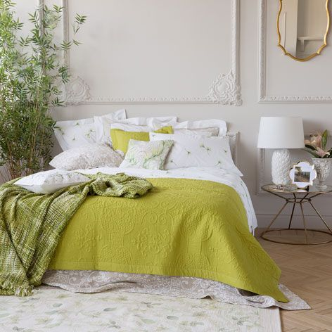 DAMASK DESIGN CUSHION COVER AND QUILT - Bedroom - New Collection | Zara Home United Kingdom