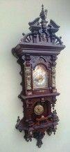 Уникальные настенные часы с боем Gustav Becker 157 см