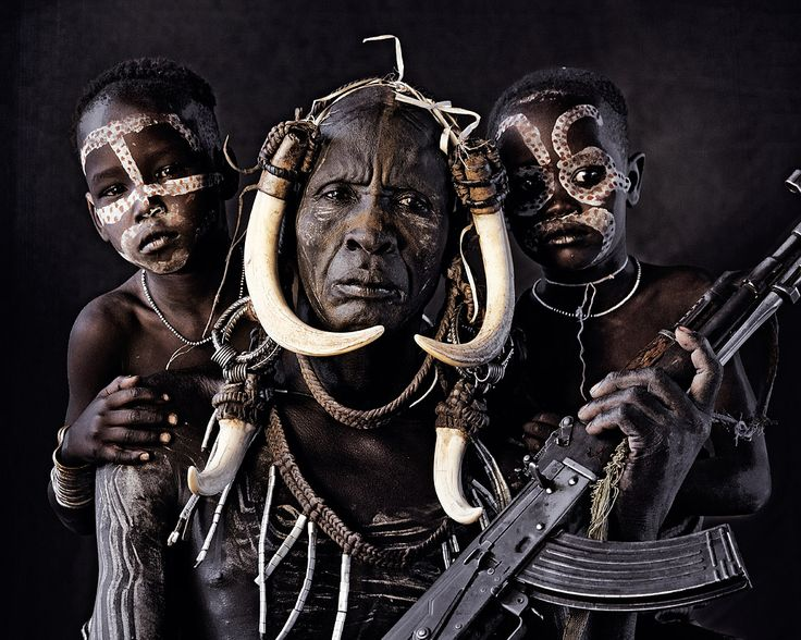 PROTECTOR - Family of the Mursi Tribe of Omo Valley photo by Jimmy Nelson - Album on Imgur