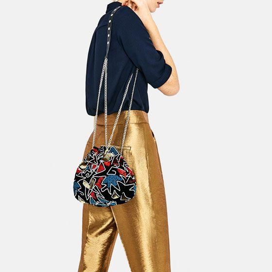 Evening Bucket Bag | Zara