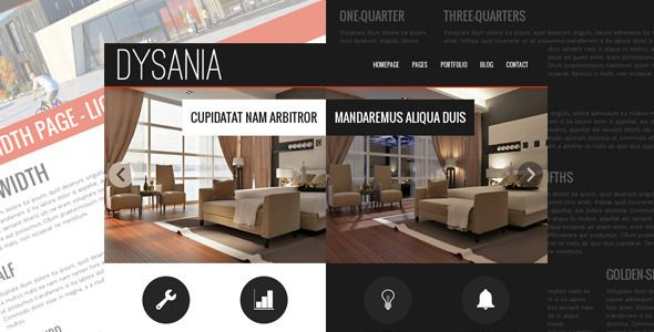 Dysania- Responsive Multi-Purpose HTML Template . Dysania- has features such as Compatible Browsers: IE9, IE10, IE11, Firefox, Safari, Opera, Chrome, Columns: 2