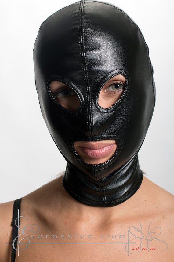 Leather Fetish Mask 100