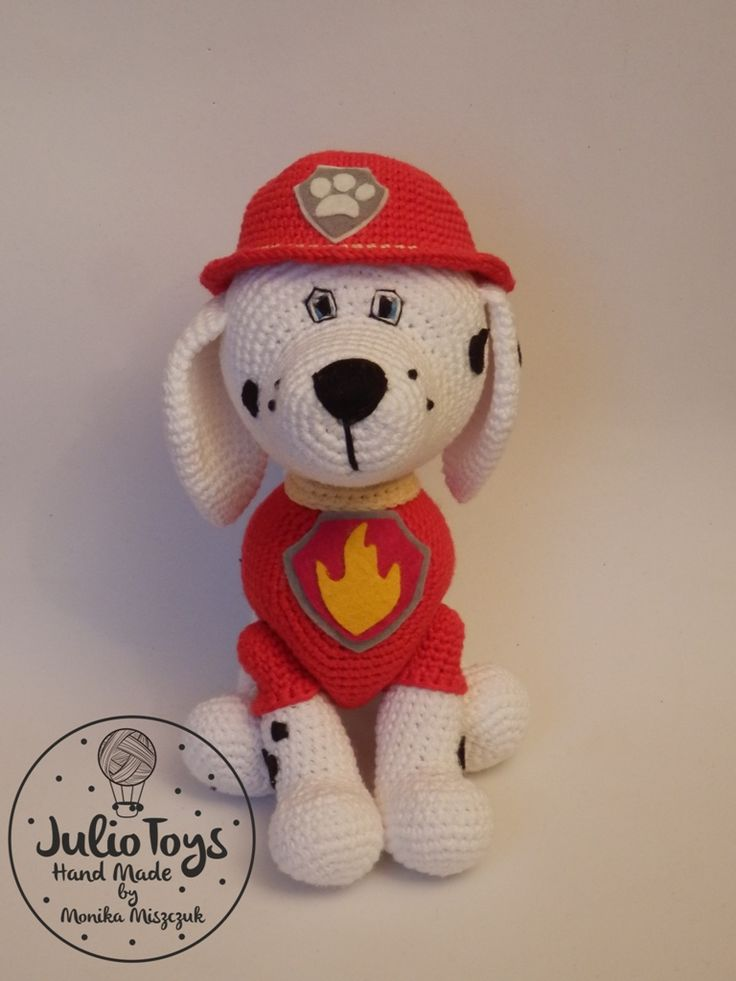 Dalmatian like Marshall from the Paw Patrol - PDF pattern ...