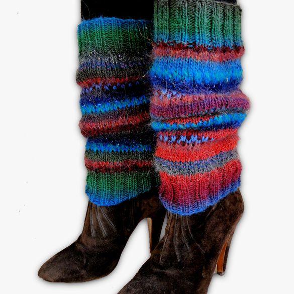 Leg Warmers - Handmade - Magic, Paradis Terrestre - Luxury British Made Accessories & Homeware