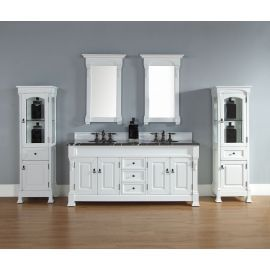 Transitional vanities are best suited for couples – Choose your vanity carefully to make your bathroom look better Varieties of different bathroom vanities are available nowadays to satisfy every individual's needs and requirements. Vanities, fixtures, sinks, etc they all come in different shapes and sizes today. Bathroom essentials are also present in different shades today. People who do not have to check their finances can also order customize bathroom fixtures, sinks and storage units.