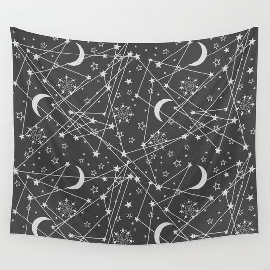 Sun and Moon tapestry Bohemian tapestry hippie tapestry by Famenxt