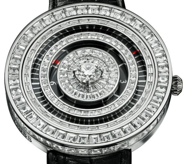 Backes & Strauss - Royal Jester - швейцарские женские часы (мужские, унисекс) - наручные, золотые с бриллиантами, белые, черные