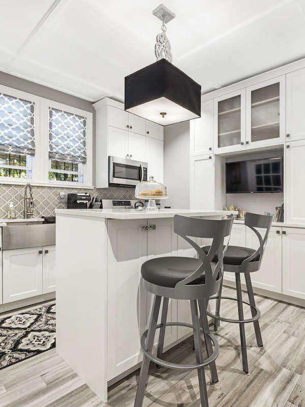 15 Small Kitchen Island Ideas That Inspire Kitchen Remodel Small Kitchen Design Small Small Kitchen Island Ideas