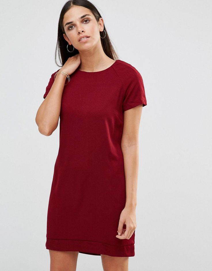 Buy it now. AX Paris Shift Dress With Slight Dip Back - Wine. Dress by AX Paris Textured woven fabric Round neckline Dipped hem Regular fit - true to size Hand wash 100% Polyester Our model wears a UK 8/EU 36/US 4 and is 168cm/5'6 tall , vestidoinformal, casual, camiseta, playeros, informales, túnica, estilocamiseta, camisola, vestidodealgodón, vestidosdealgodón, verano, informal, playa, playero, capa, capas, vestidobabydoll, camisole, túnica, shift, pleat, pleated, drape, t-shape, daisy,...