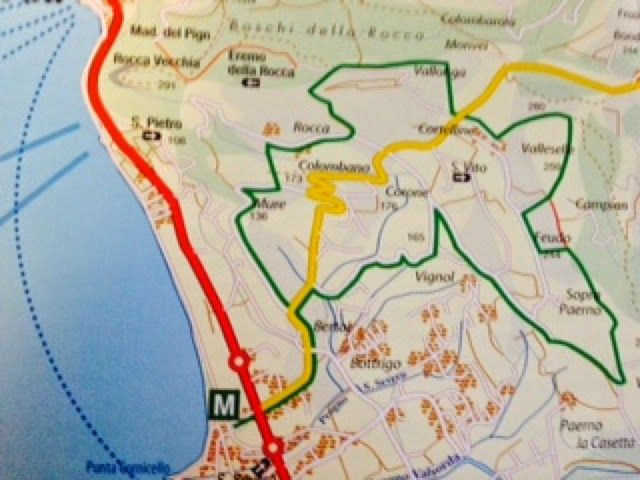 HIKE, BIKE, SLOW FOOD ITALY: Trekking in Lake Garda: a From Bardolino