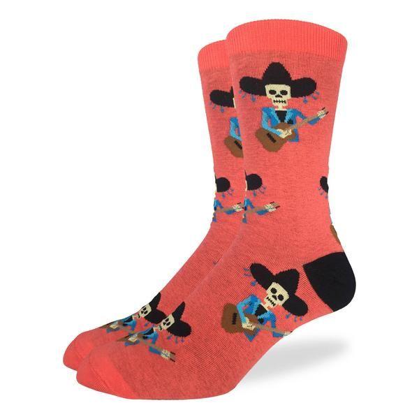 Men's Mariachi Skeleton Socks
