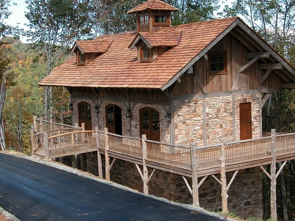17 best images about timberframe on pinterest montana for Stone and timber homes