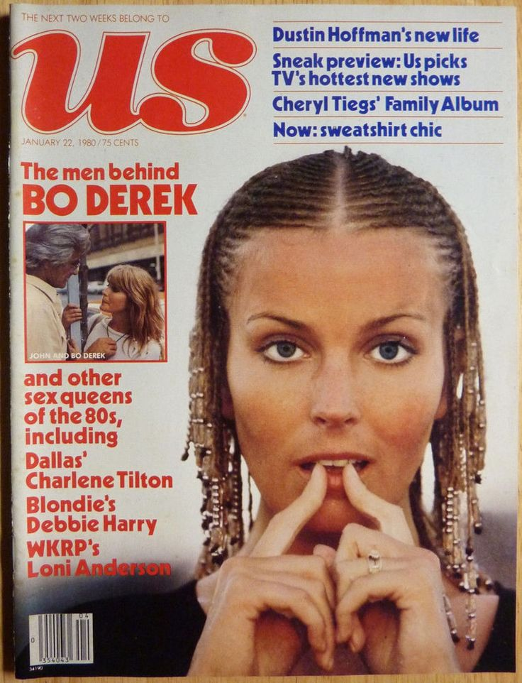 US MAGAZINE JAN. 22 1980 BO DEREK COVER BLONDIE, CHERYL TIEGS NO LABELS !!!!!!!!