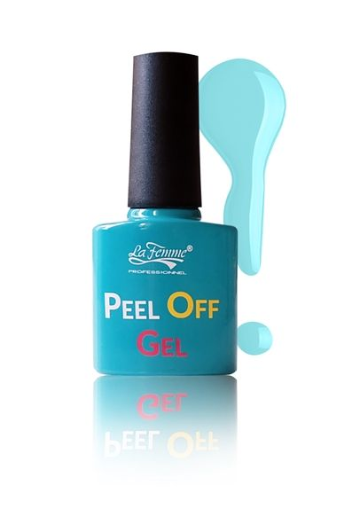 """Peel Off Gel"" numero 11  Un tocco di cielo sulle tue unghie! #PeelOff #PeelOffGel #Bellidamatti #Nails #Colore #Sky"
