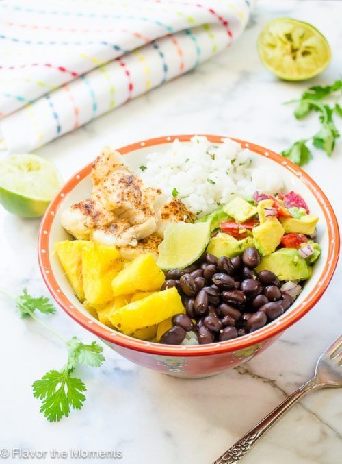 fish-taco-bowls-with-cilantro-lime-rice-and-grilled-pineapple1-flavorthemoments.com