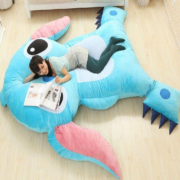 large size cartoon anime lilo and stitch plush toys dolls giant stuffed animals tv movie. Black Bedroom Furniture Sets. Home Design Ideas