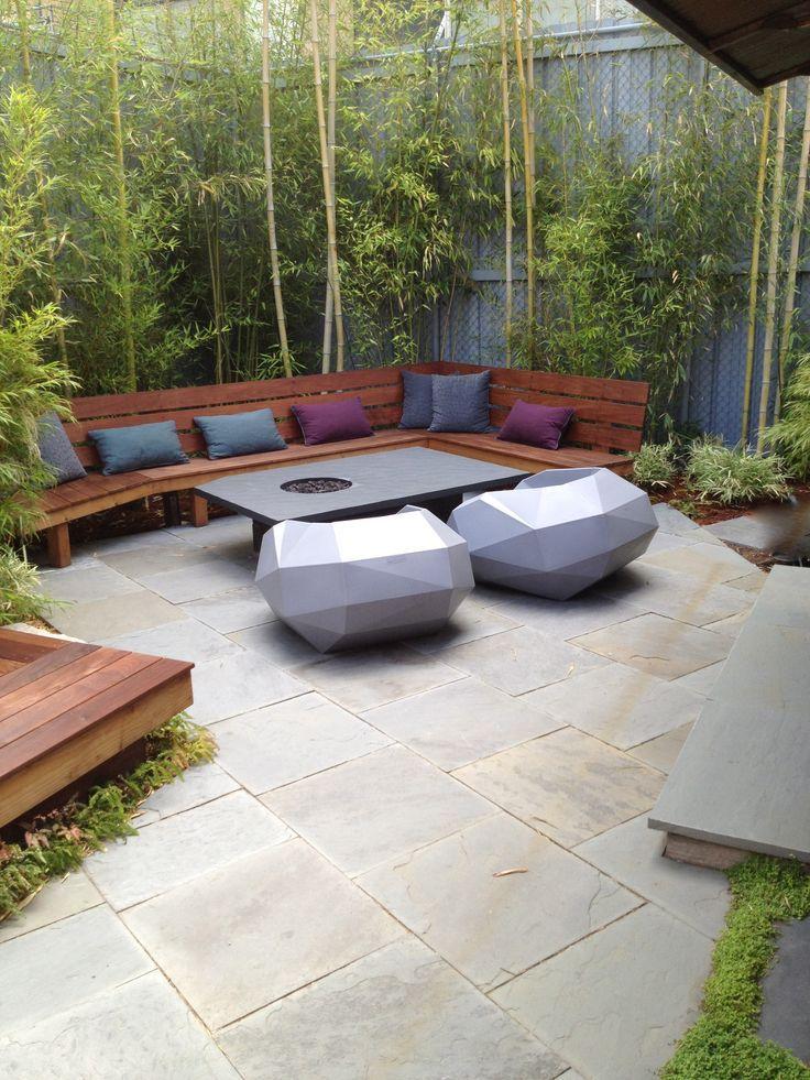 Patio Design Ideas for Your Beautiful Garden : Oriental Patio Design