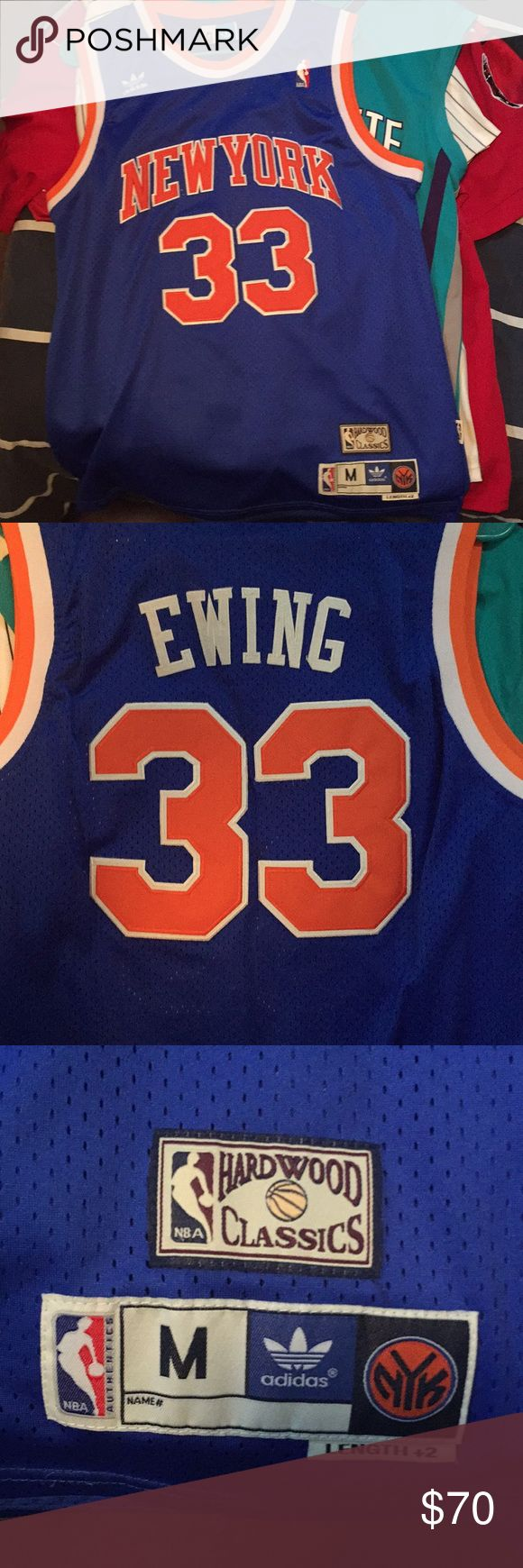 Adidas Patrick Ewing jersey Size medium. Stitched. Patrick Ewing jersey. No flaws, good as new! adidas Shirts Tank Tops