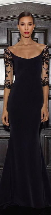 black lace gown - 2014