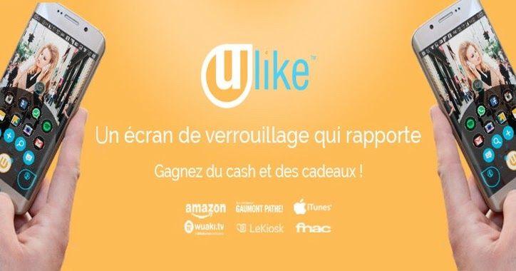Ulike est une #application Android qui vous fait gagner de l'argent en affichant des #publicités qui vous intéressent sur votre écran de verrouillage !   Grâce à ces pubs vous pouvez gagner entre 10€ et 20€ par mois passivement, sans changer vos habitudes.  Vous pouvez également gagner de l'argent en regardant des vidéos ou en téléchargeant des applications.  Je vous explique tout sur mon blog !