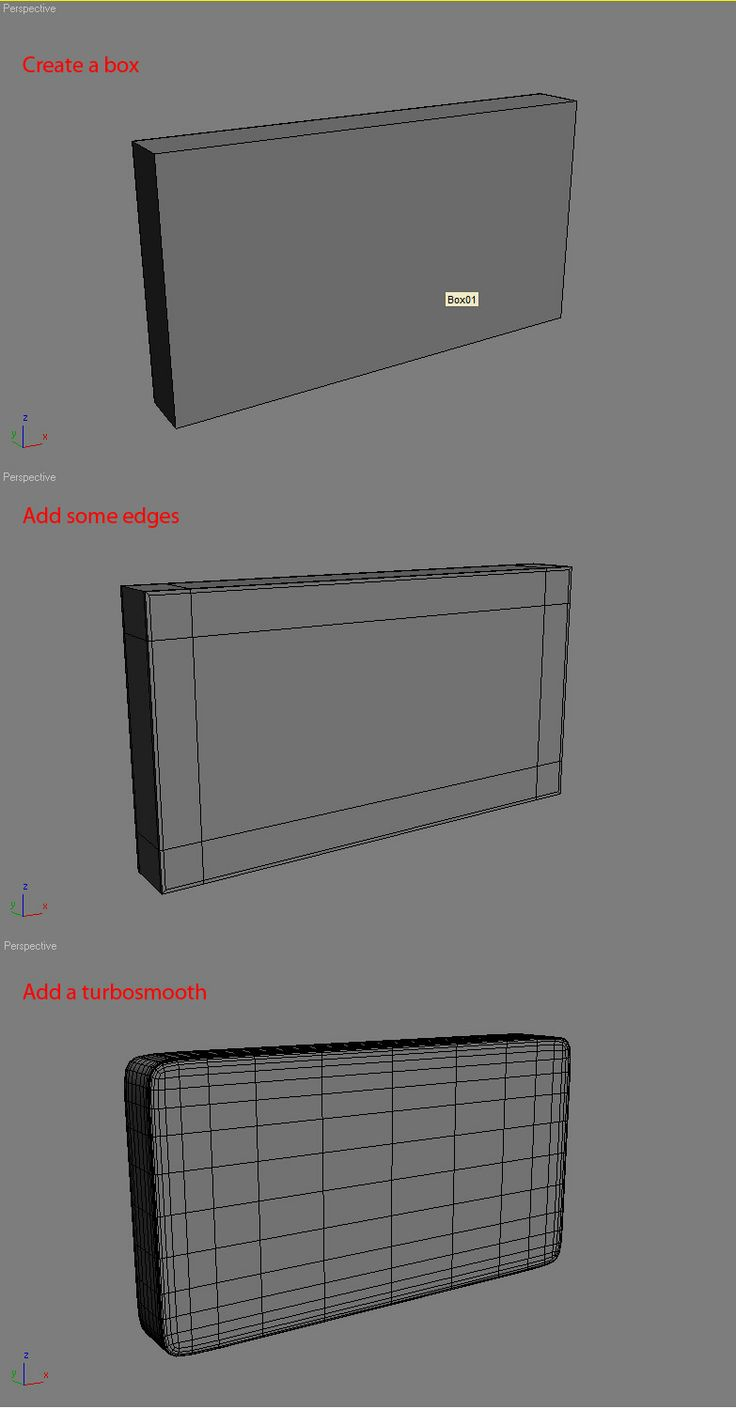 box modeling(round corners ) A mystery to me - 3DTotal Forums