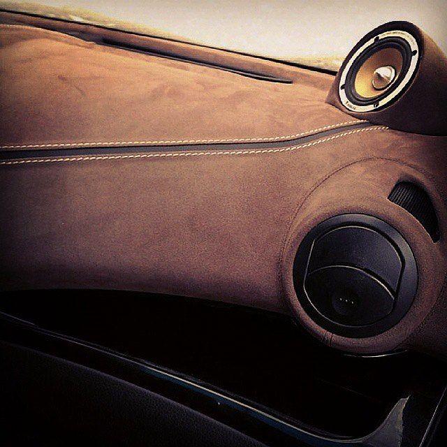 custom car - wrapped dashboard .. design concept adaptable to trucks